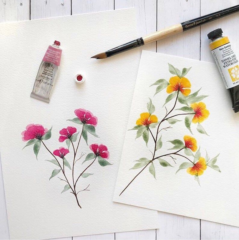 California Poppies Hand Embroidery Pattern   Digital Download PDF   Contains Detailed Tutorials for Beginners – ZEICHENKURS