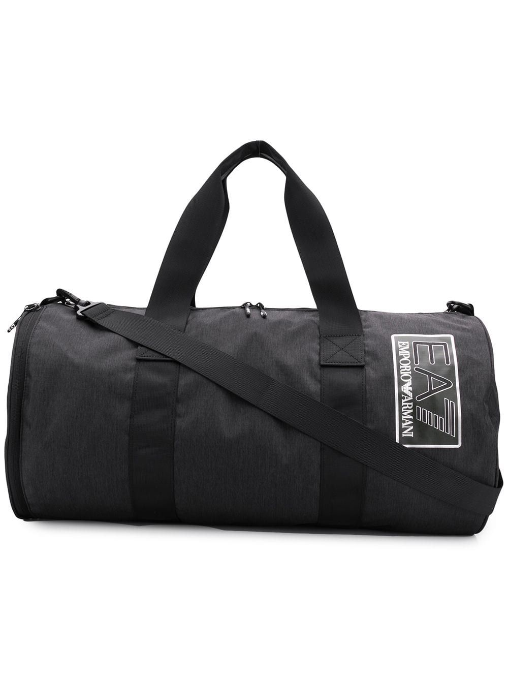 865eb38549bb EA7 EMPORIO ARMANI EA7 EMPORIO ARMANI LOGO PATCH HOLDALL - BLACK.   ea7emporioarmani  bags  polyester