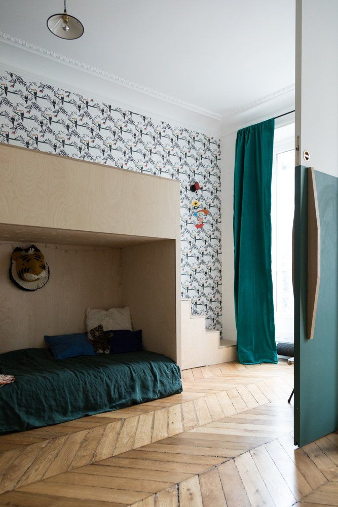 Anne fleur broudehoux and thierry lebraly joseph 4 and zacharie 2 years old kidsroom kids rooms and room