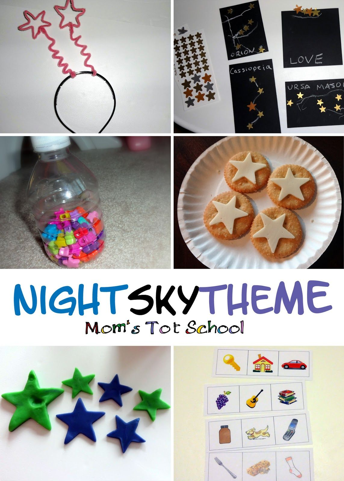 The Night Sky Theme Activities Snacks Books Songs And Learning Ideas