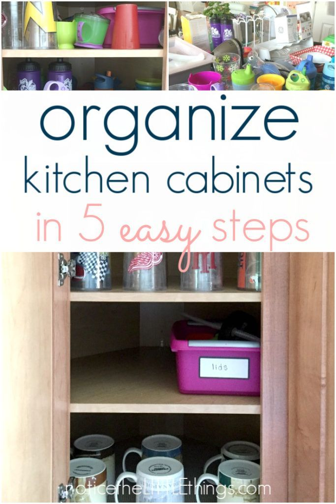organizing kitchen cabinets in 5 easy steps kitchen on clever ideas for diy kitchen cabinet organization tips for organizers id=21436