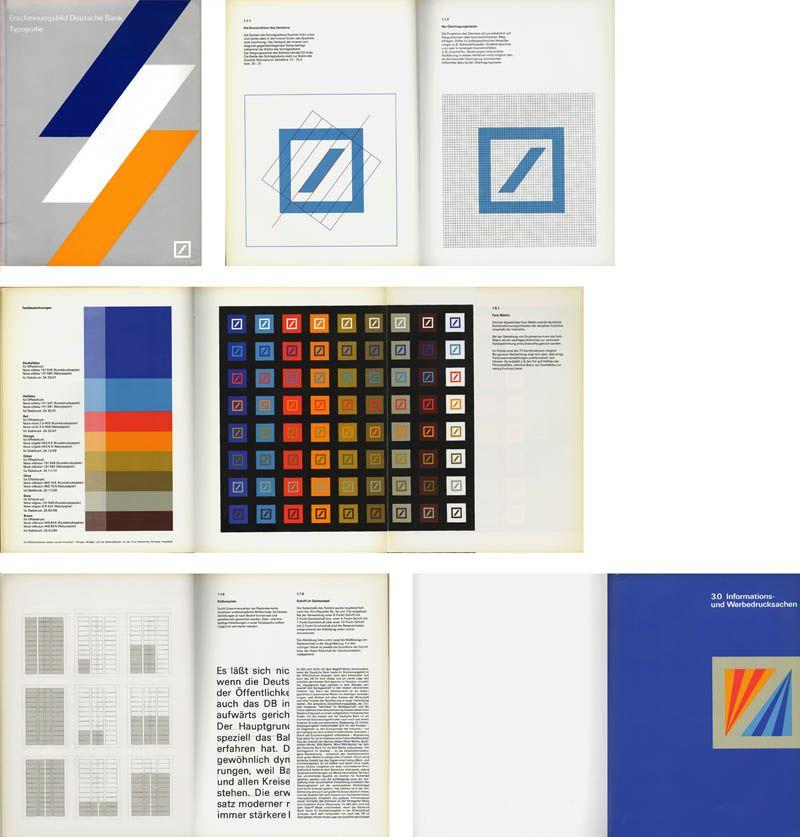 Rationale Deutsche Bank Design Manual Bank Design Brand Guidelines Manual Design
