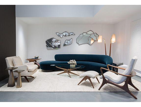 Vladimir Kagan Contour Low Back Lounge Chair Luxury Living Room Living Room Designs Sofa Design