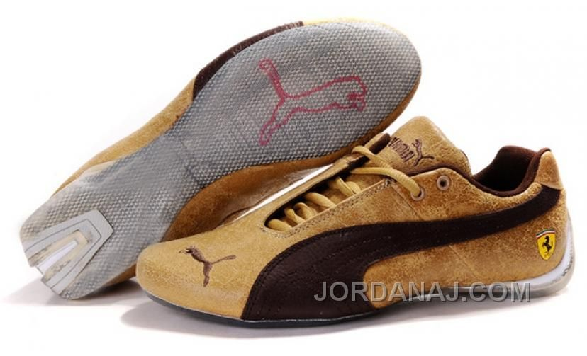 aff673271cd5 Now Buy New Mens Puma Ferrari 102 Yellow Brown Grey Save Up From Outlet  Store at Footlocker.