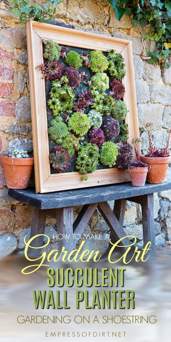 Photo of DIY Succulent Wall Planter | Empress of Dirt