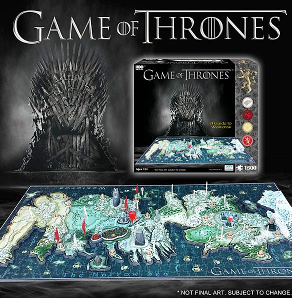 Game of Thrones 3D Map of Westeros Puzzle | Game of Thrones ... Game Of Thrones D Map Westeros Puzzle on crown lands map game of thrones, detailed map of westeros game of thrones, google map game of thrones,