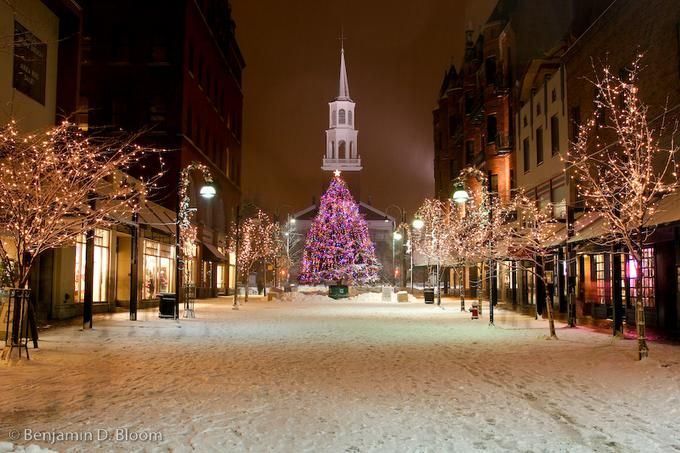 Church Street Burlington Vt I Have Been Here And It