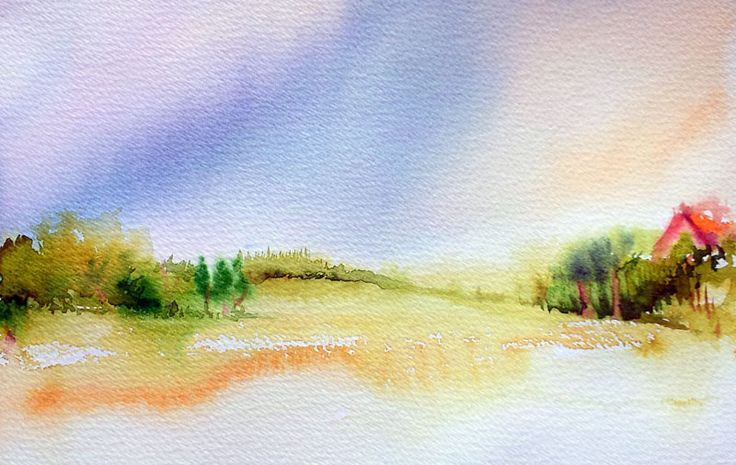 simple watercolor painting - Google Search | watercolour ...