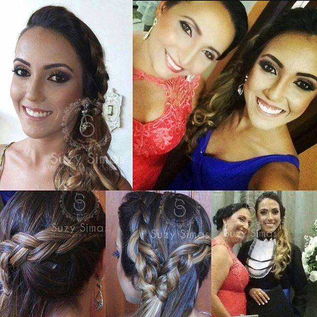 #formatura #maquiagem #penteadosdivas #festas #formanda #penteados