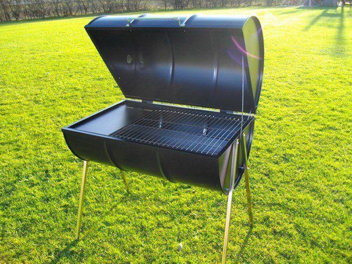1001 id es barbecue pinterest baril noir mat et barbecue. Black Bedroom Furniture Sets. Home Design Ideas