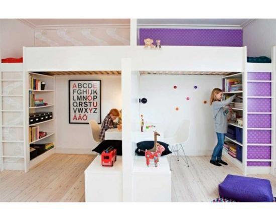 une chambre pour deux enfants les meilleures id es pour leur cr er chacun un espace d co. Black Bedroom Furniture Sets. Home Design Ideas