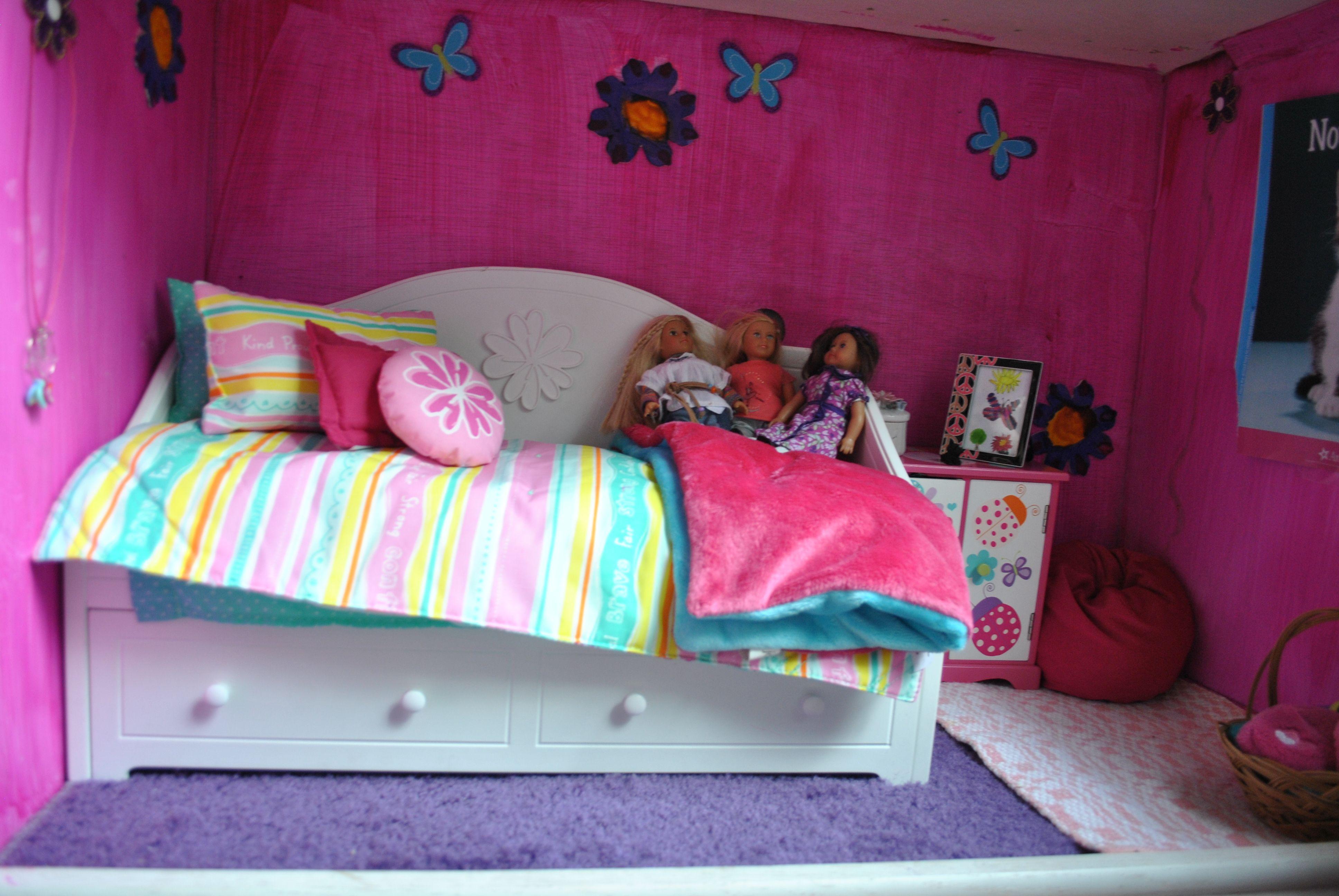 Julies room  | Bedroom accessories, American girl doll