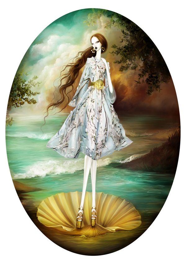Venus in Dolce Gabbana on Behance