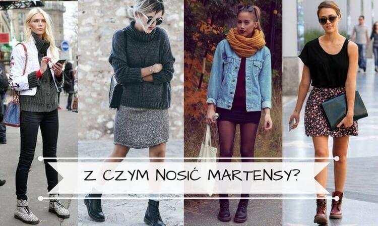 Jak I Z Czym Nosic Martensy Glany Stylizacje I Rady Fashion Stylists Sequin Skirt
