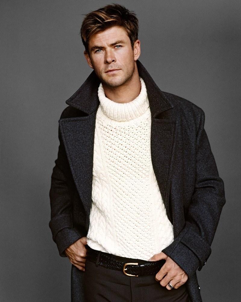 Feature Evolution Inside Us: Chris Hemsworth Inside GQ Magazine US .