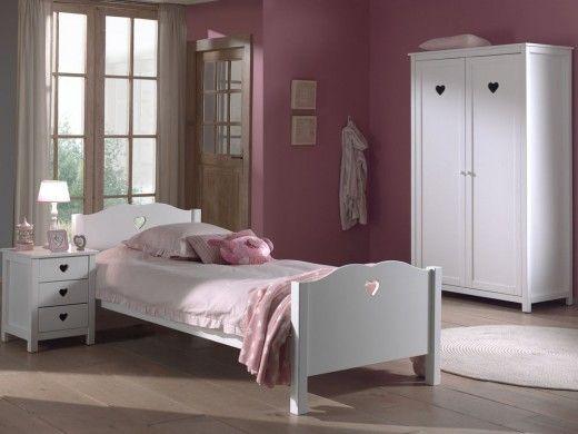 Chambre Complete Amora Blanc 1 Avec Images Chambre A Coucher