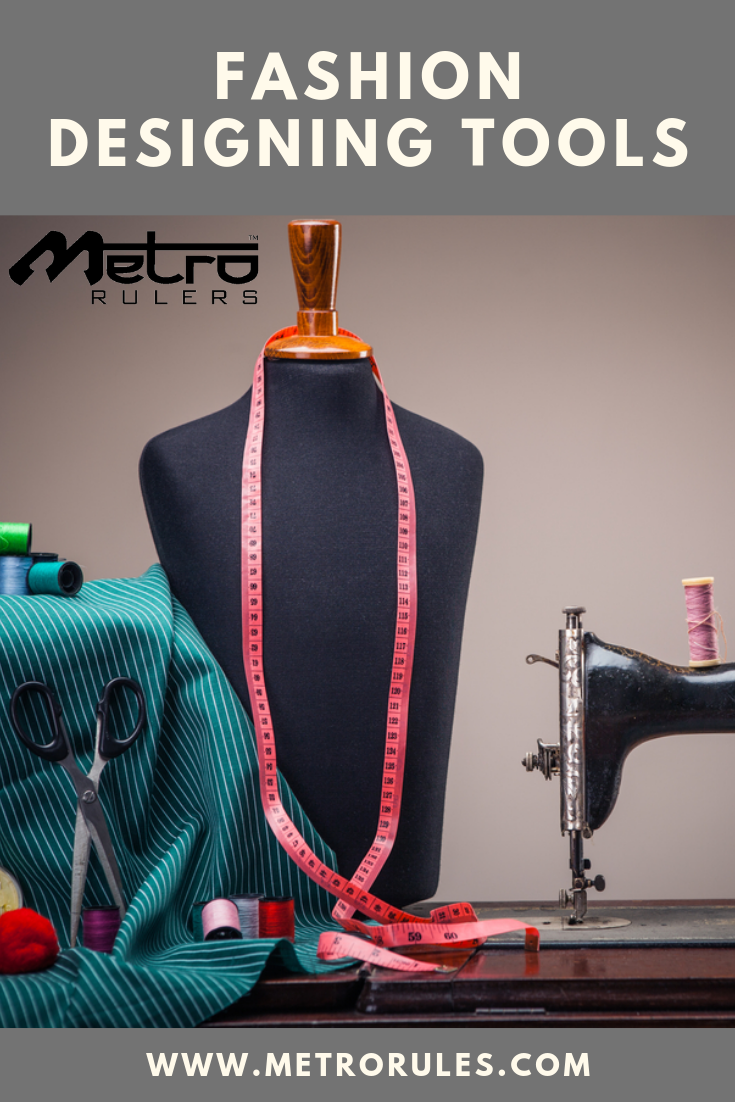 Metro Rulers Fashion Designing Rulers Kit Includes All Such Tools And Equipment Used For Pattern Making Tailoring And Fashion Designing Along With Carry All Con Imagenes Ing