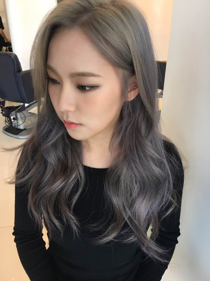 Lavender Ash Brown 2017 Hair Color Trend Trending Hairstyles For