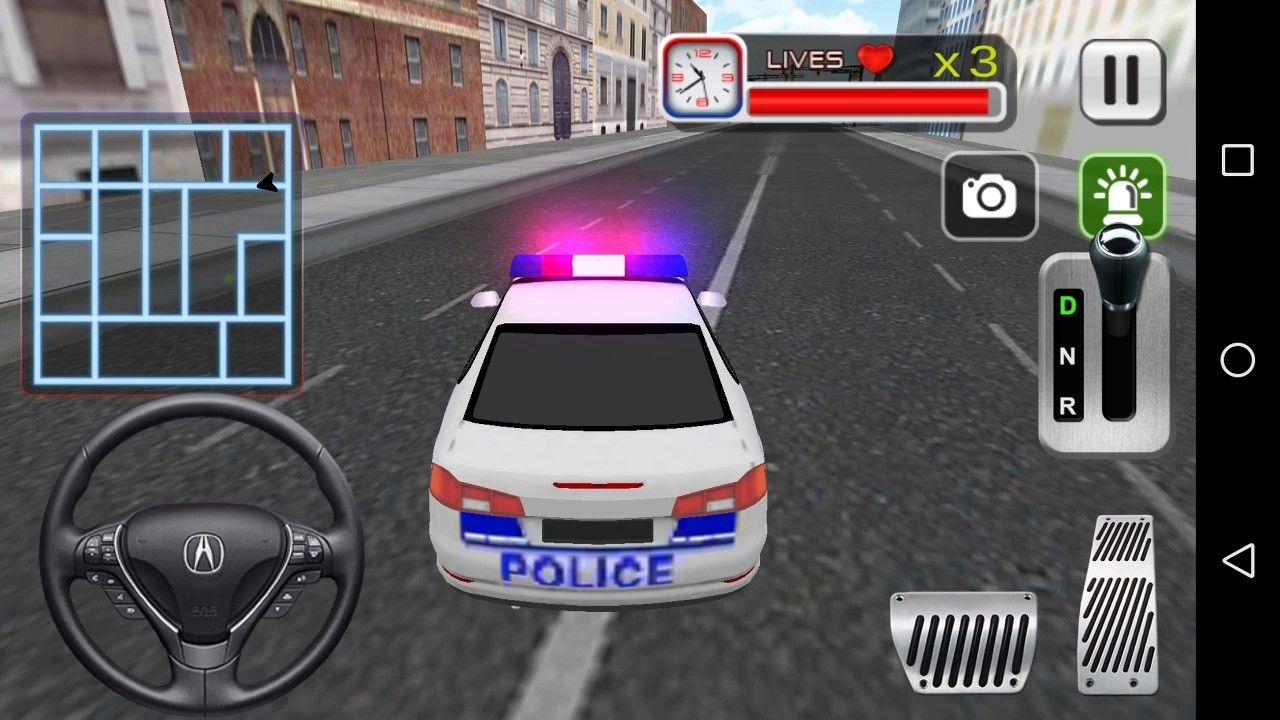 Polis Araba Polis Oyun Araba