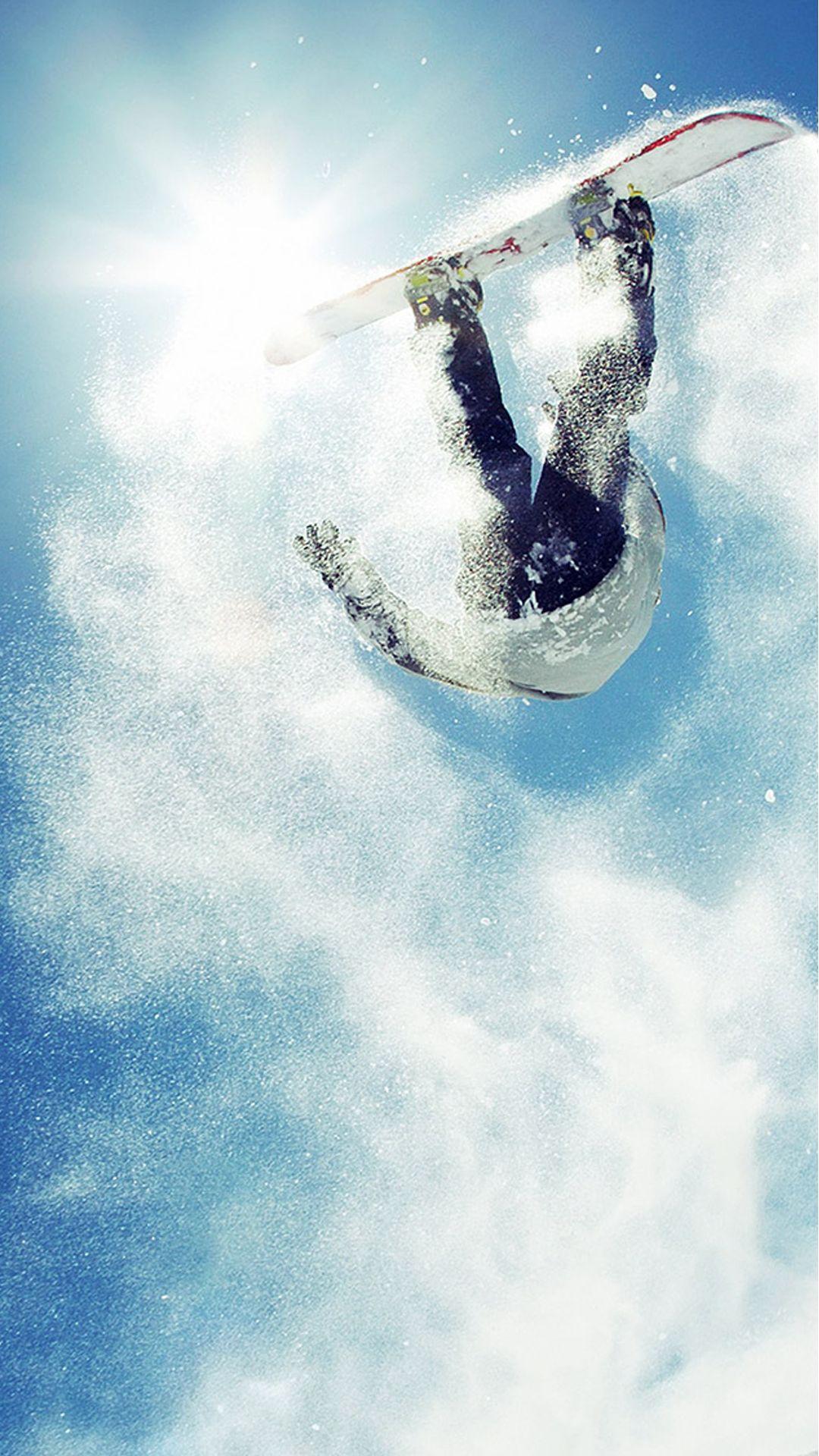 Snowboard Big Air Powder Iphone 6 Wallpaper Download Iphone Wallpapers Ipad Wallpapers One Stop Download Sports Wallpapers Snowboard Snowboarding