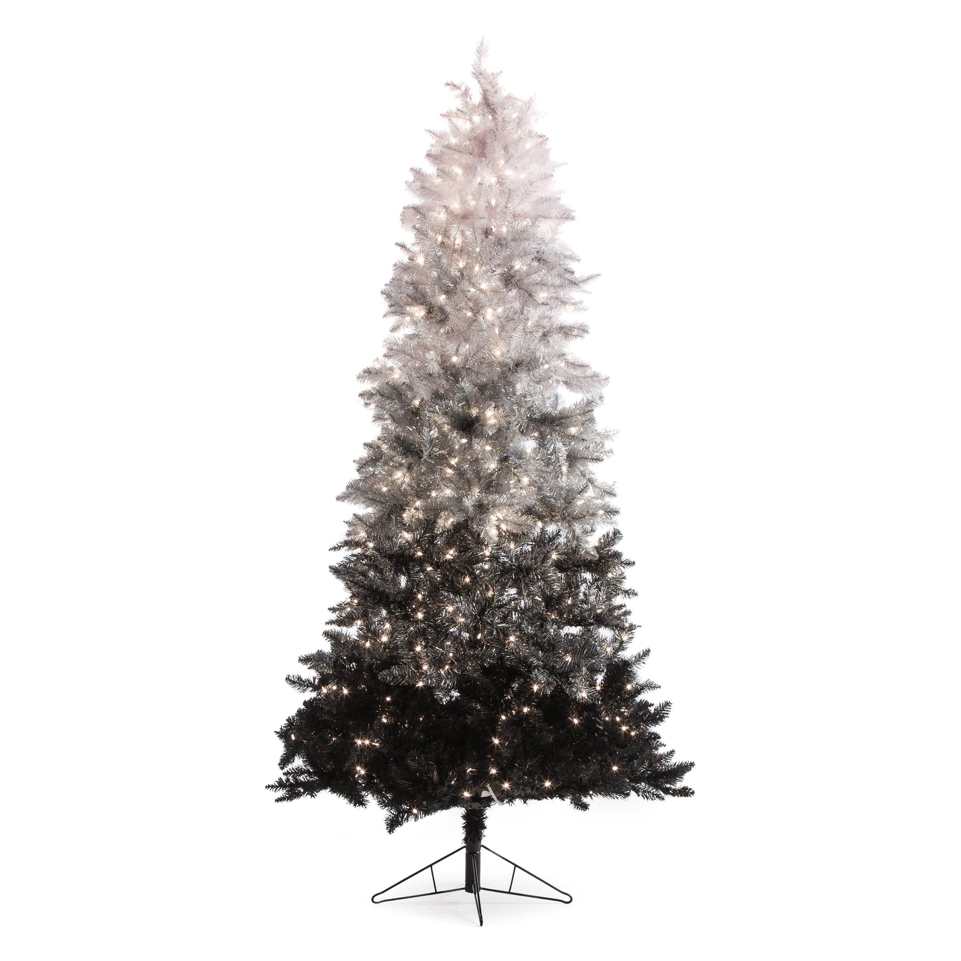 Have To Have It 7 5 Ft Vintage Black Ombre Spruce Pre Lit