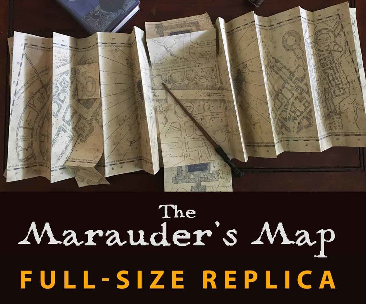 Last Halloween I posted an instructable on how to create a miniature replica of the Marauder's Map from Harry Potter. The miniature version is only about 7 inches tall.Well, this year I decided to take it a little further and create a full size replica of the map. I'm very pleased with how it turned out, and I hope you all enjoy making it as much as I did!The miniature is quicker to make, however it looks like it's over 50% smaller. This full size replica is essentially exactly the same as th...