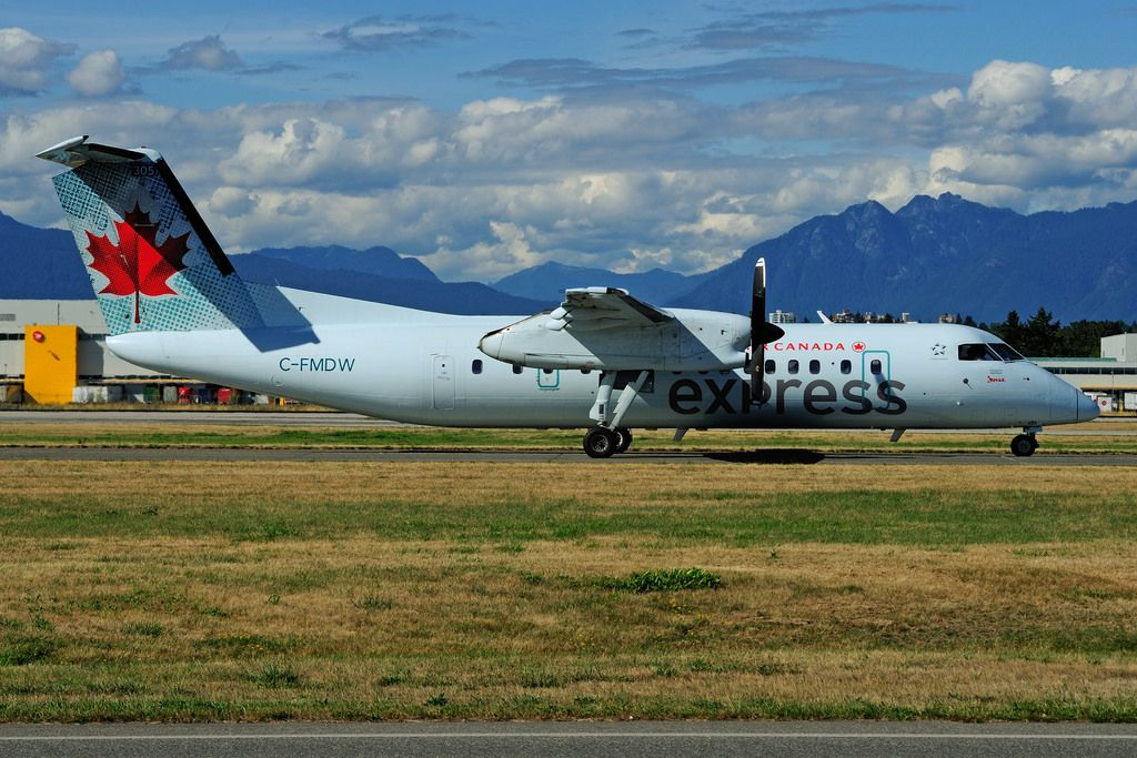 Air Canada Express Fleet (Jazz) Bombardier Dash 8300