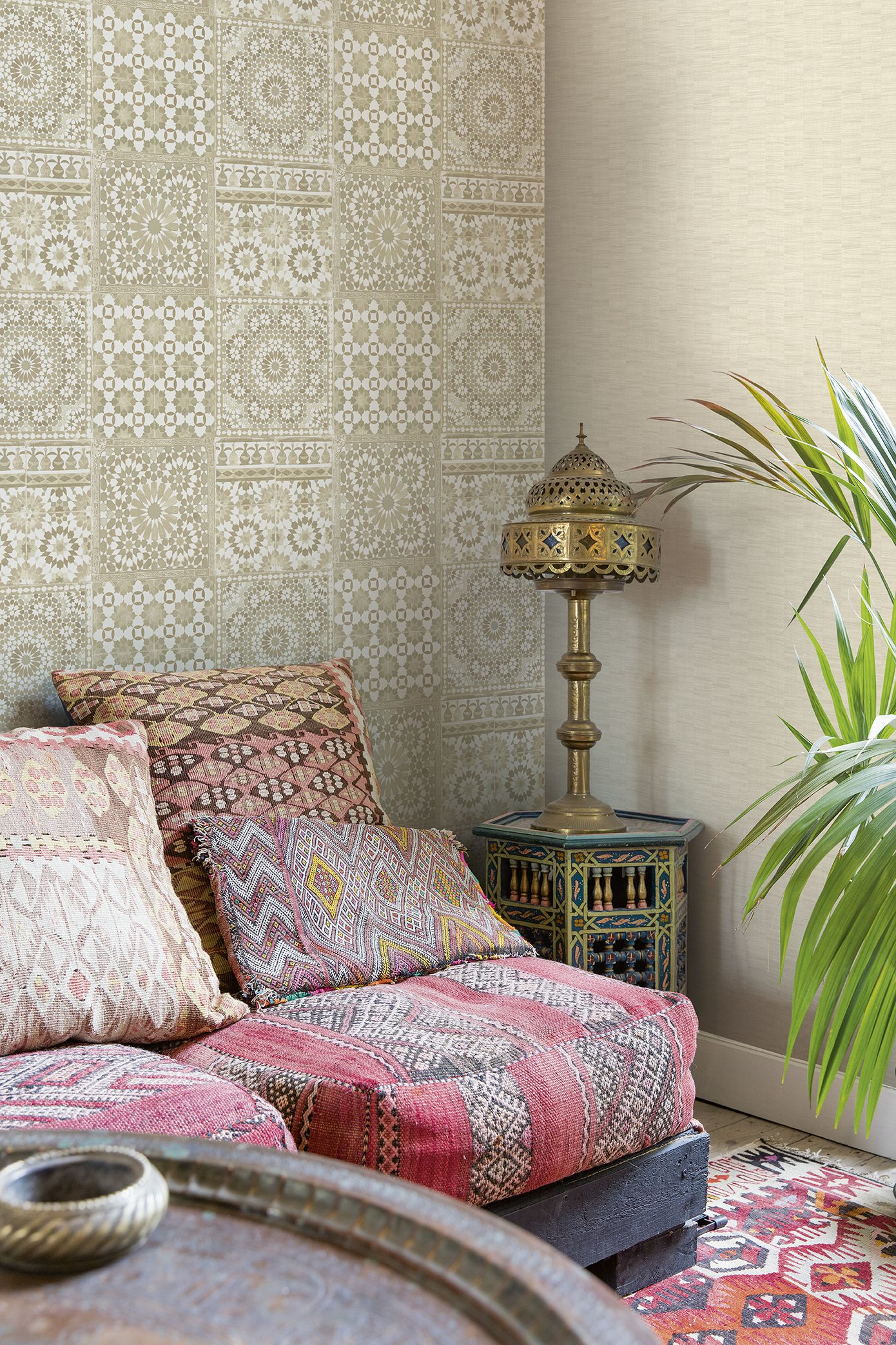 Make your home cosy with a moroccan tile