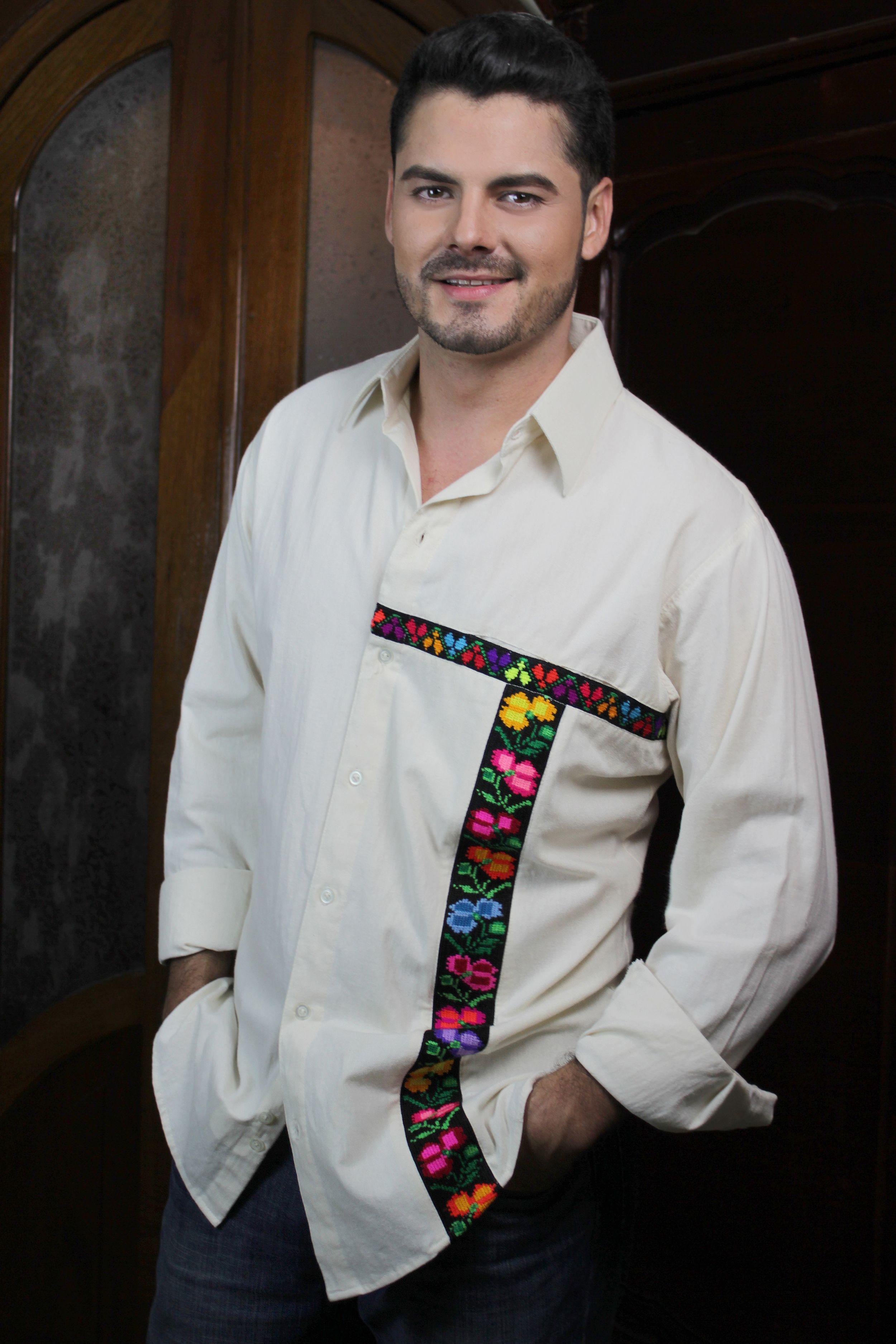 Camisa confeccionada en 100 % algodón con bordado chiapaneco 75f8ccb3c24de