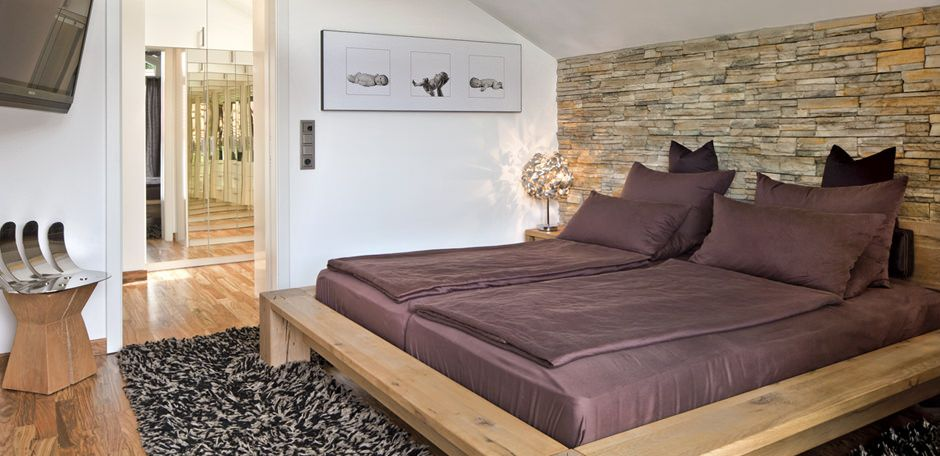 Schlafzimmer Im Landhausstil Einrichten Bild