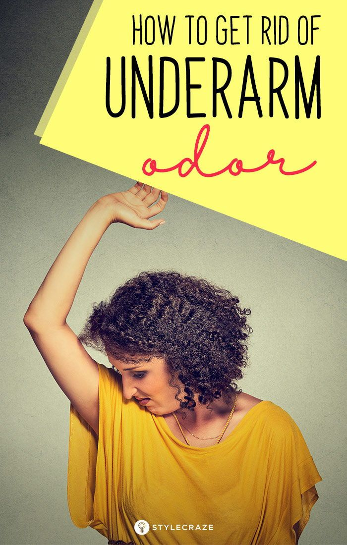 How To Get Rid Of Underarm Odour: 14 Home Remedies