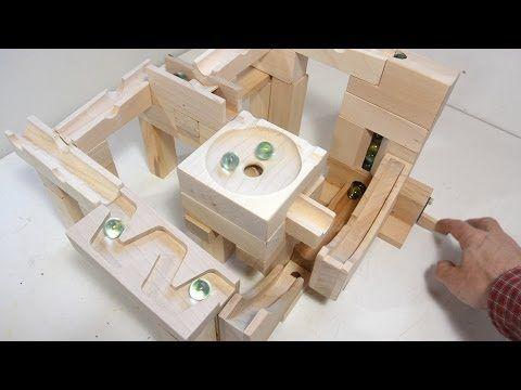 Marble Run Blocks Simplified Construction Marble Run Marble Machine Marble Toys