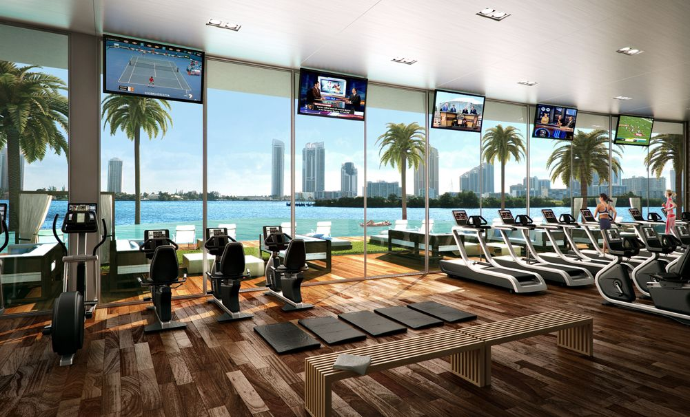 6 Luxury Hotel Gyms Around The World Hotel Gym Design Pinterest Gym Luxury And Gym Design