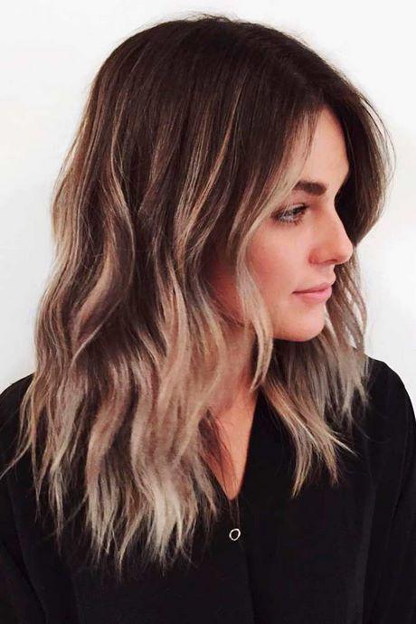 Haare schneiden für mittellanges Haar - Frisuren 2019 #longlayeredhaircuts