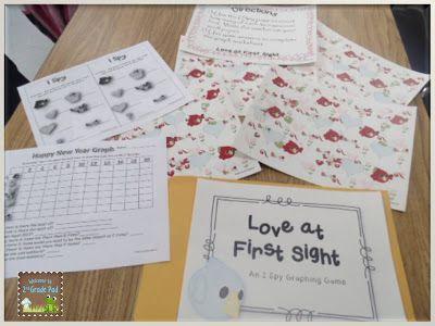 2nd Grade Pad: Valentine Freebie (scroll down on the blog post)