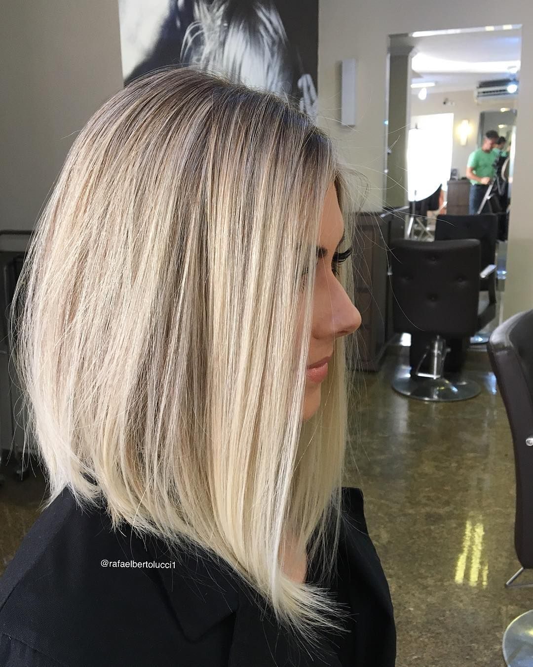 7 best shoulder length hairstyles for fine hair | hair | bob