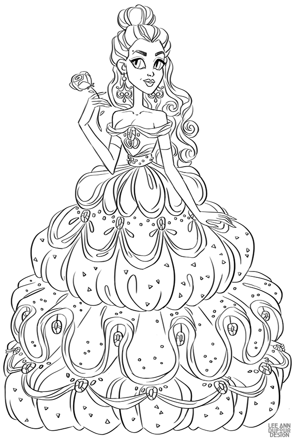 Раскраски с Дисней Принцессами | Раскраски, Раскраски ...