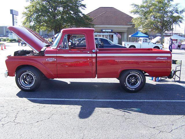 1966 Ford F100 Classic Ford Trucks Ford Pickup Trucks Ford Trucks