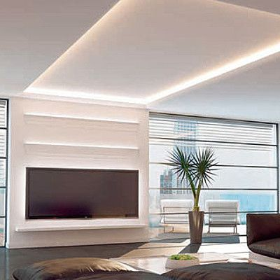 LED #Indirekte Beleuchtung #Ambiente #Profistuckde #schönerWohnen