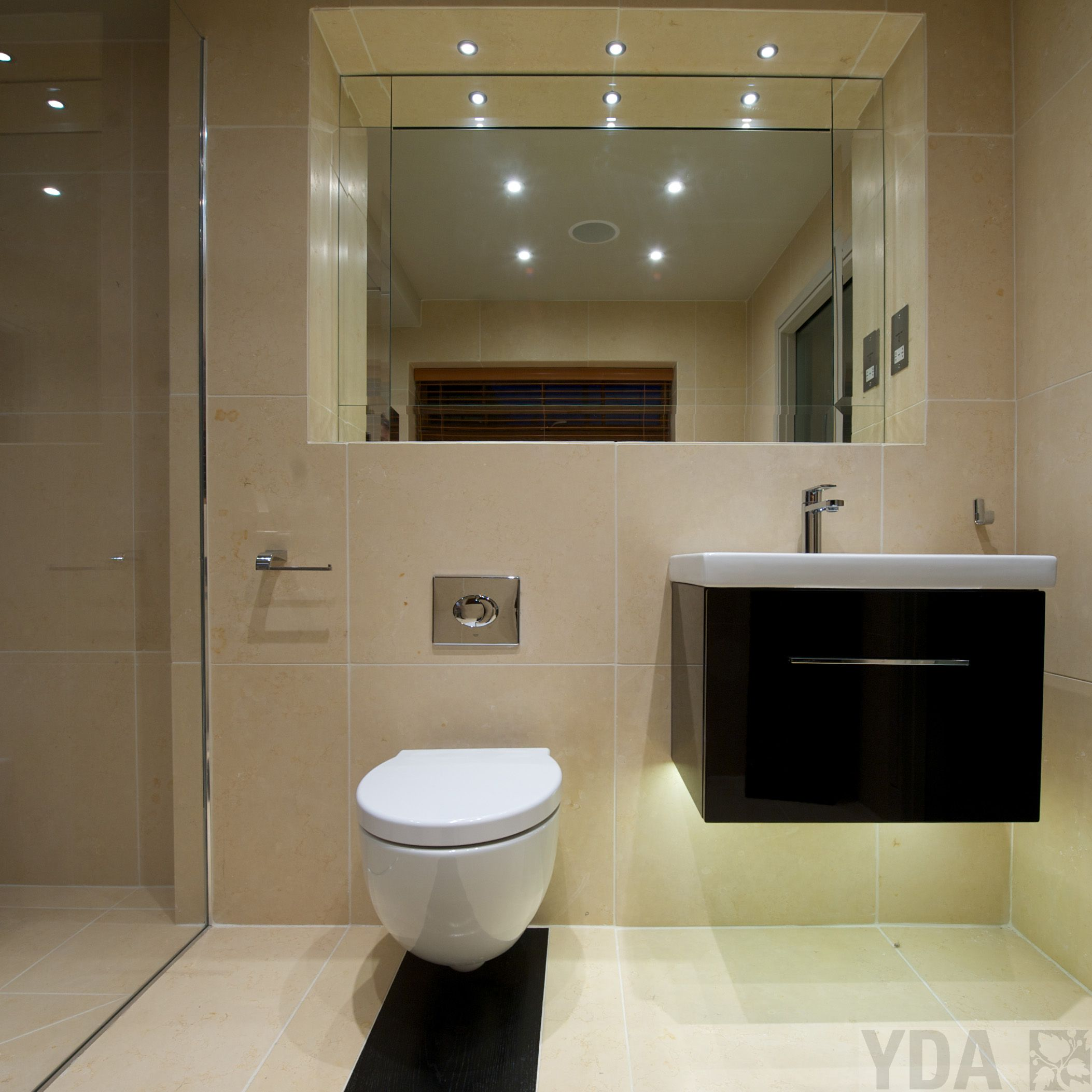 Barn conversion bathroom suite yda design portfolio for Barn conversion bathroom ideas
