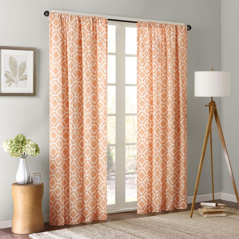 Madison Park Ella Window Curtain Panel