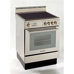 Deluxe Self-cleaning 24-inch Electric Range | Overstock™ Shopping
