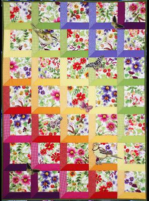 Free Attic Windows Quilt Pattern : attic, windows, quilt, pattern, Pattern, Attic, Windows, Quilts, Quilts,, Quilt, Patterns,, Flower