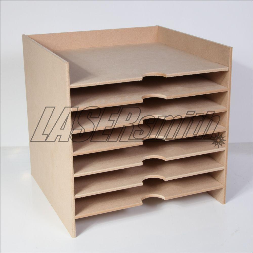 12 X 12 Inch Paper Storage Unit For Craft Etc Fits Ikea Kallax Cube Storage Lasersmith Paper Storage Cube Storage Scrapbook Storage