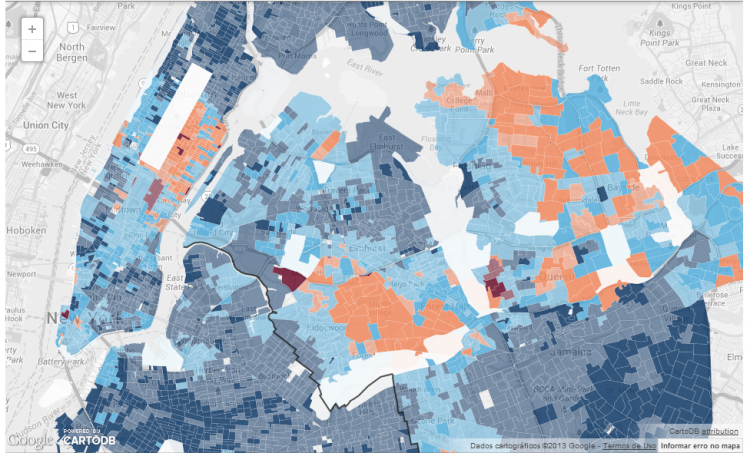 NY1 2013 NYC Mayoral Election: Vote Share & Turnout