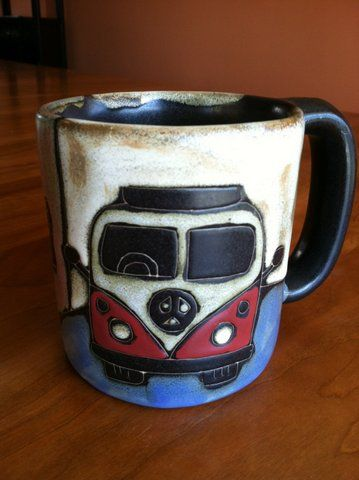 Yes, this coffee cup called to me enough to pay thirty-two bucks for it and I LOVE it :)
