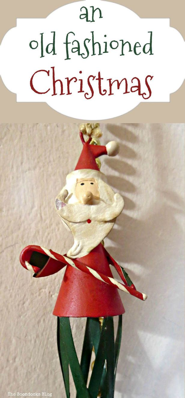 An Old Fashioned Christmas Home For Blog Hop The Boondocks