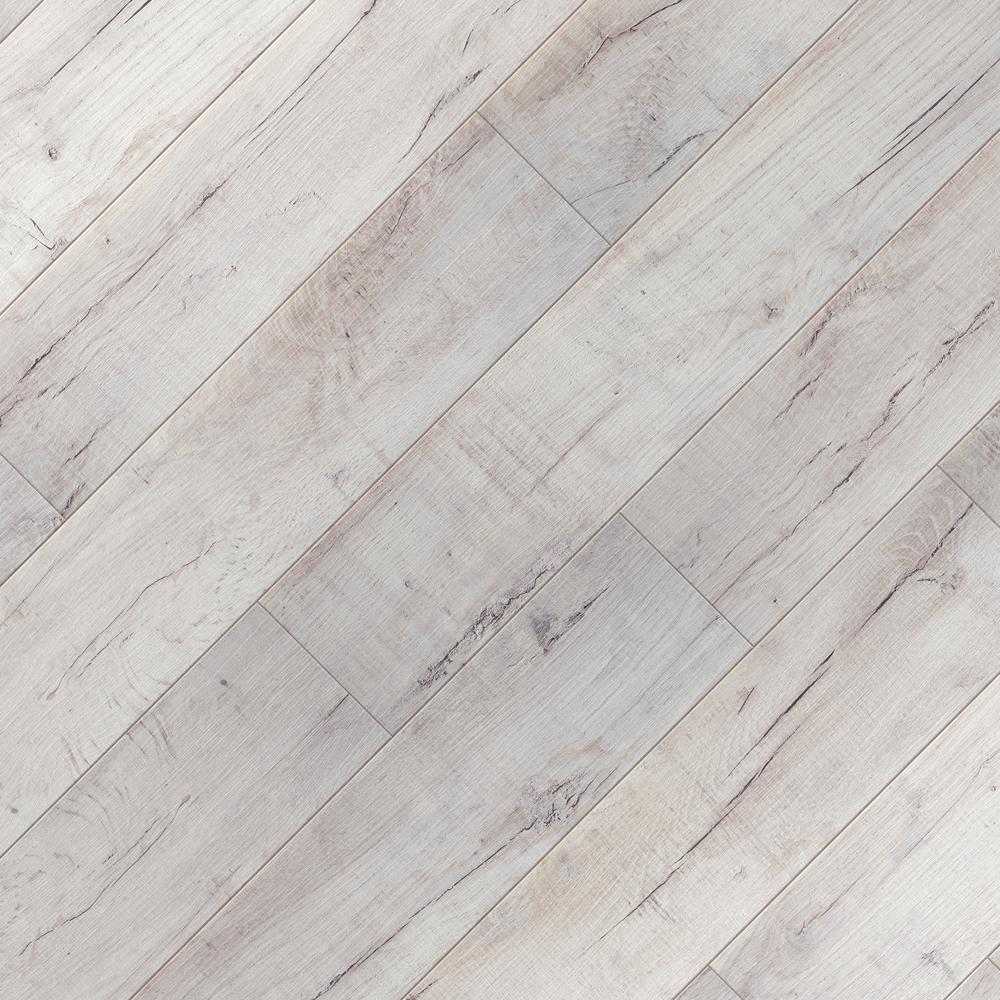 Home Decorators Collection Textured Shadow Oak 8 Mm Thick X 7 64 In Wide X 47 80 In Length Laminate Flooring 30 42 Sq Ft Case Hl1319 The Home Depot In 2020 Oak Laminate Flooring Grey Laminate Flooring Flooring