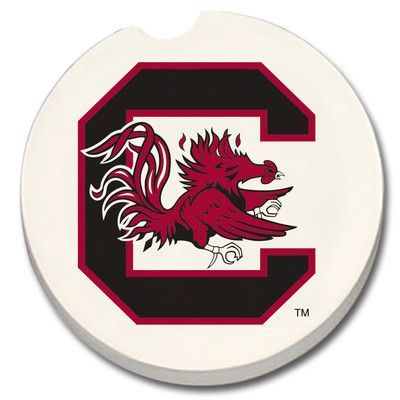 CounterArt NCAA Car Coaster NCAA Team: South Carolina Gamecocks