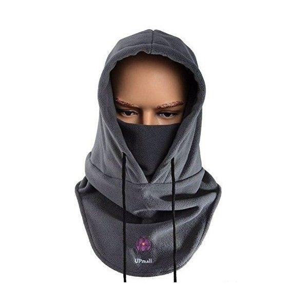 Fashion Hood Fleece Women Neck Warmer Beanie Hat Ski Snood Scarf Face Mask